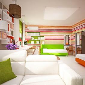interior children's bedroom in modern style